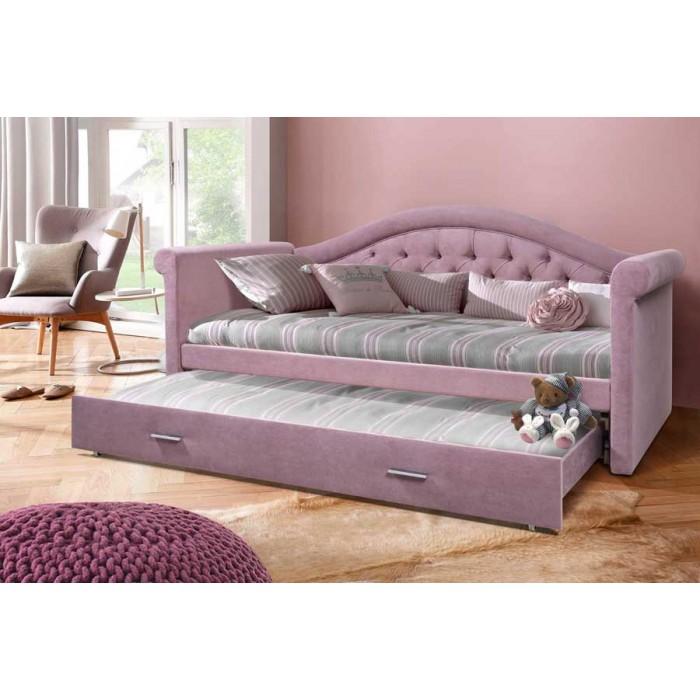 Кровать Жасмин Плюс с каретной стяжкой Grand Manar