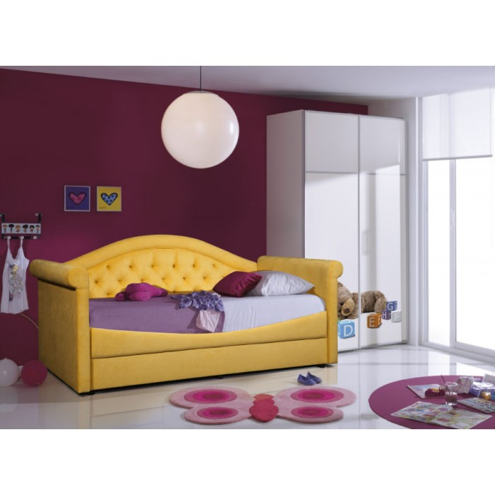 Кровать Жасмин с каретной стяжкой Grand Manar